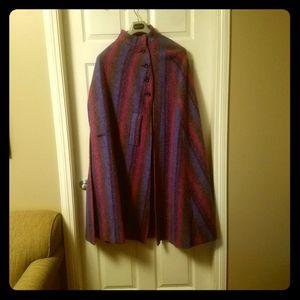 Jimmy Hourihan Vintage Wool Cape